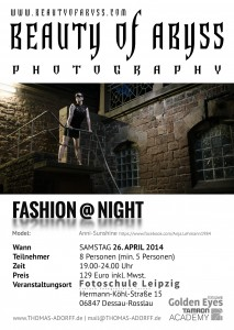 FlyerFashionNight-Dessau